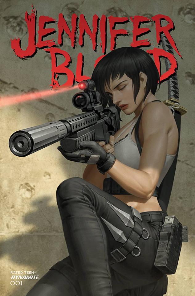Jennifer Blood #1 (Yoon Cover)