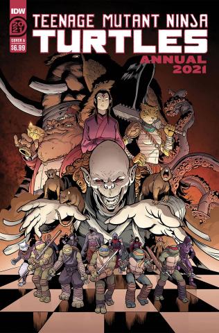 Teenage Mutant Ninja Turtles Annual 2021 (Casey Maloney Cover)