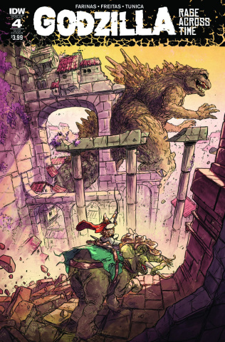Godzilla: Rage Across Time #4 (Subscription Cover)