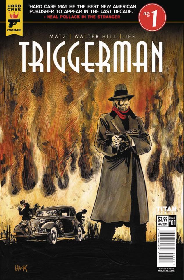 Hard Case Crime: Triggerman #1 (Hack Cover)