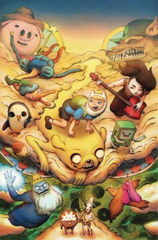 Adventure Time, Season 11 #2 (Benbassat Cover)