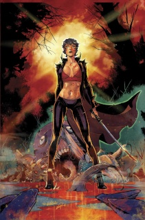 Grimm Fairy Tales: Inferno - The Rings of Hell #3 (Valentino Cover)