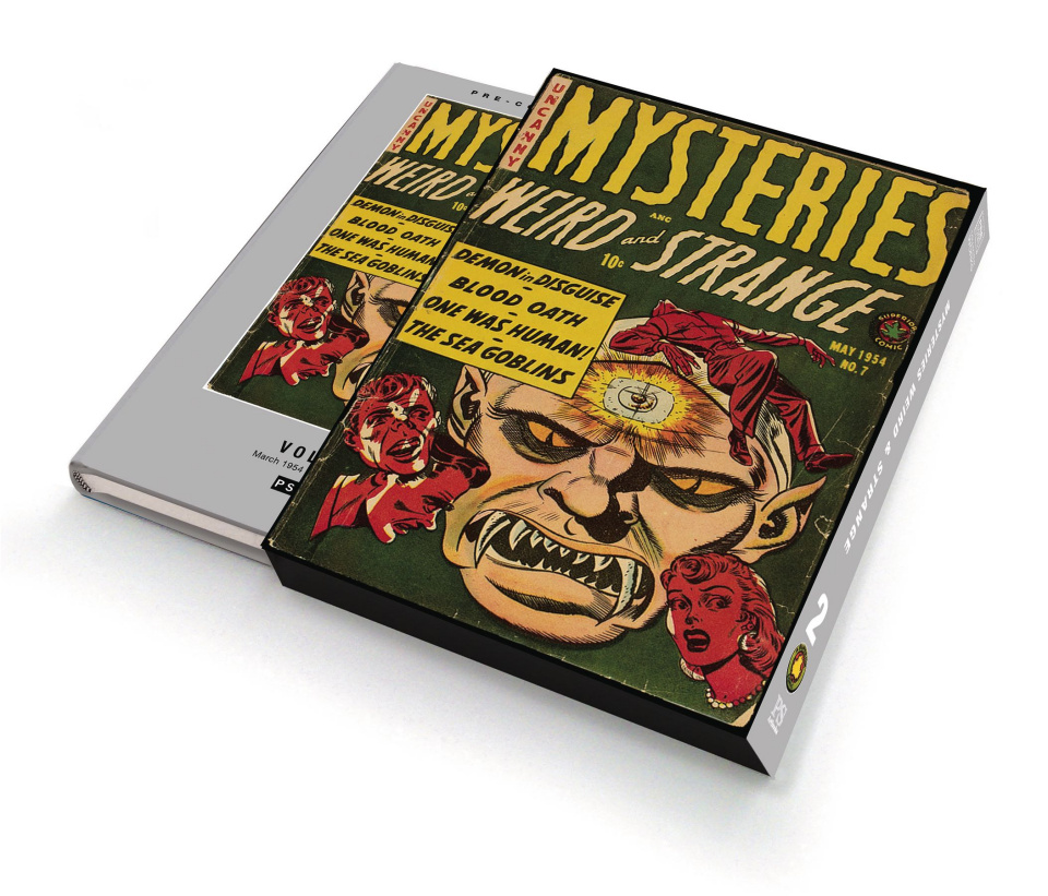 Uncanny Mysteries: Weird and Strange Vol. 2 (Slipcase Edition)