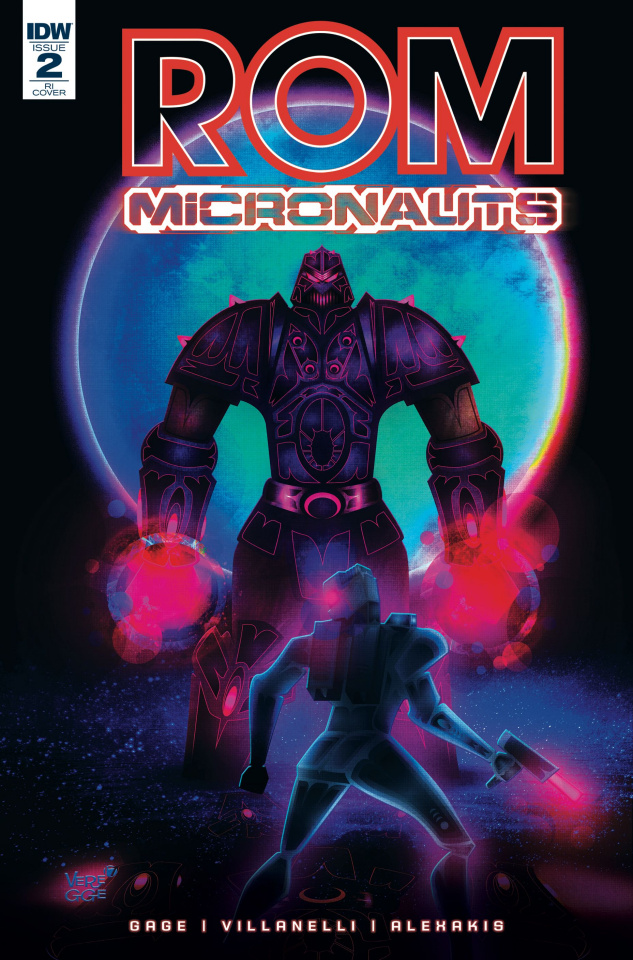ROM & The Micronauts #2 (10 Copy Cover)