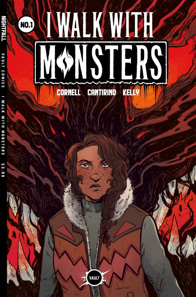 I Walk With Monsters #1 (Cantirino Cover)