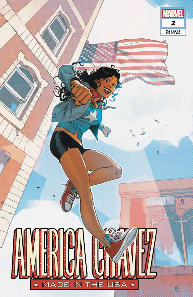 America Chavez: Made in the U.S.A. #2 (Bengal Cover)