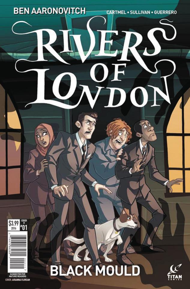 Rivers of London: Black Mould #1 (Florean Cover)