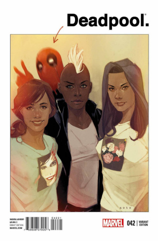 Deadpool #42 (Noto Cover)
