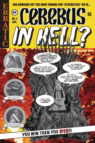 Cerebus: In Hell? #4