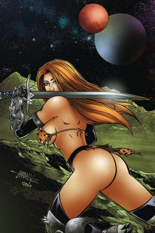 Cavewoman: Metal Age #2 (Mangum Cover)