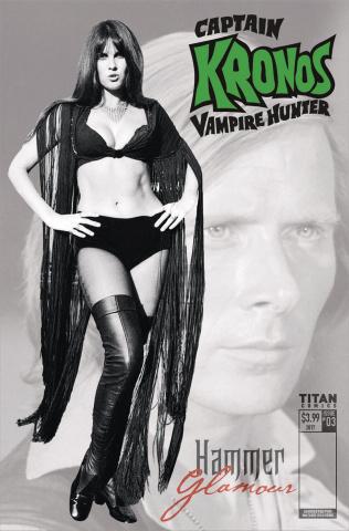 Captain Kronos #3 (Hammer Glamour Cover)