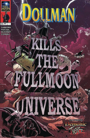 Dollman Kills The Full Moon Universe #1 (Pascual Cover)
