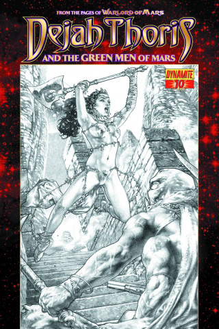 Dejah Thoris & The Green Men of Mars #10 (Anacleto Subscriber Cover)