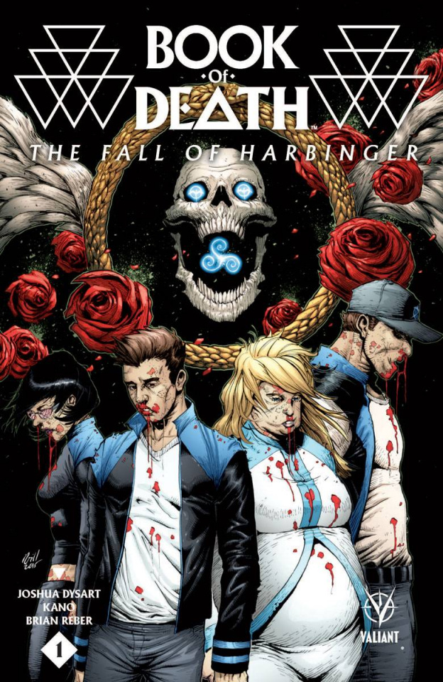 Book of Death: The Fall of Harbinger #1 (20 Copy Gill Cover)
