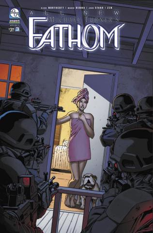 All New Fathom #3 (Renna Cover)
