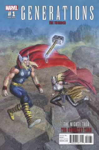 Generations: The Unworthy Thor & The Mighty Thor #1 (Pastoras Cover)