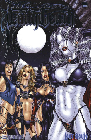 Lady Death: Lost Souls #0 (Platinum Foil Cover)