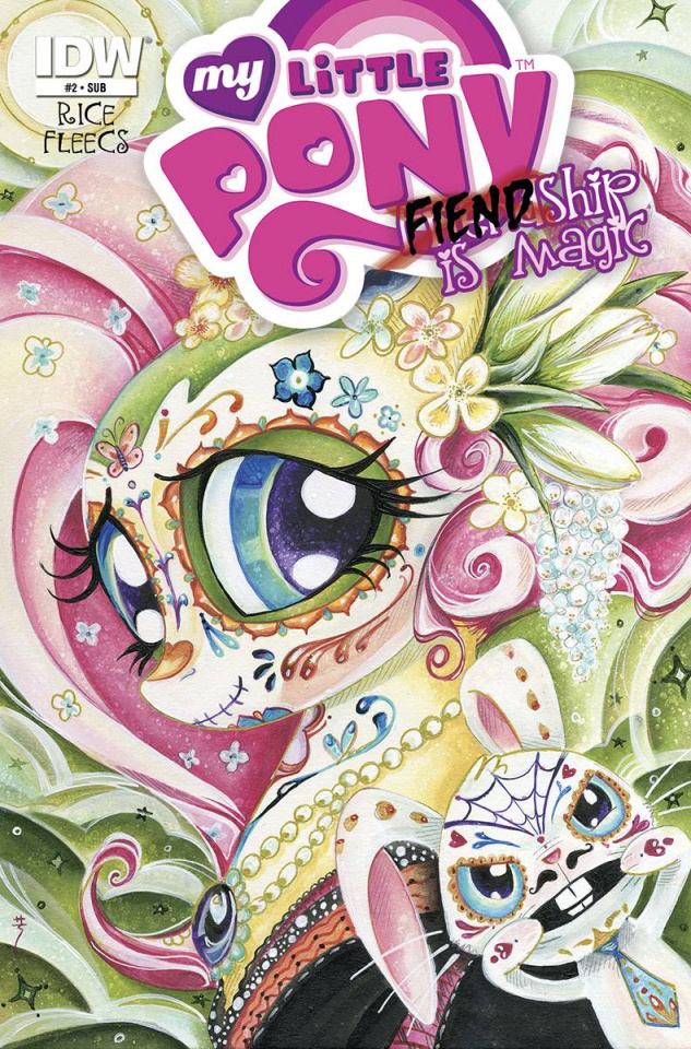 My Little Pony: Fiendship Is Magic #2 (Subscription Cover)