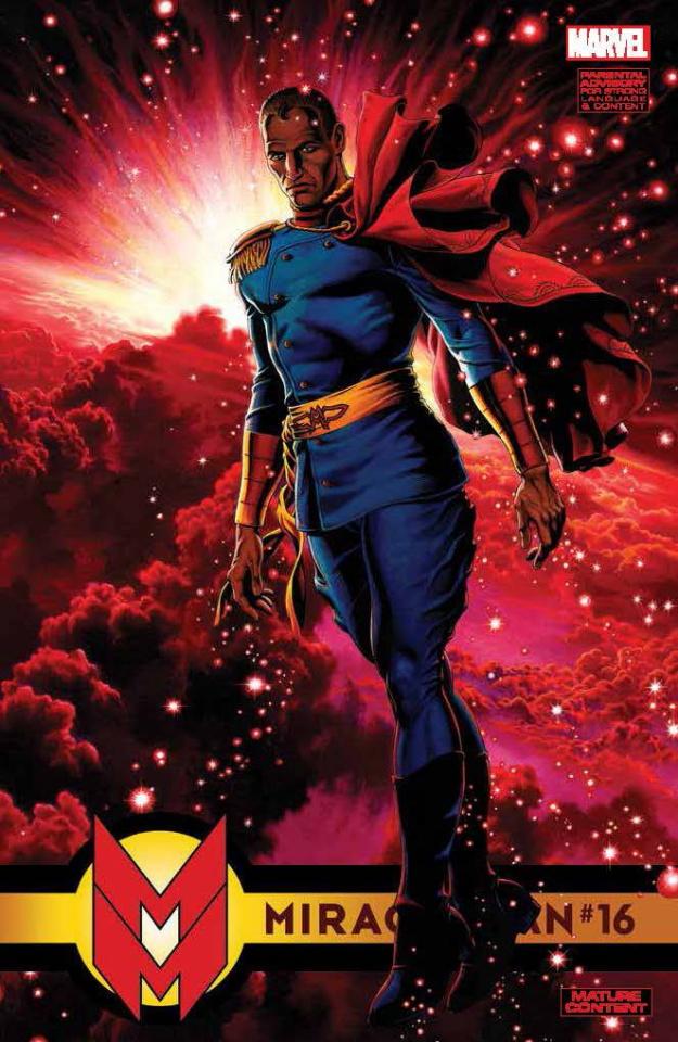 Miracleman #16 (Leach Cover)