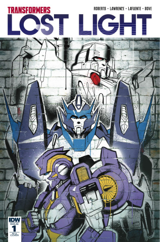 The Transformers: Lost Light #1 (10 Copy Cover)