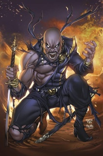 Grimm Fairy Tales: Realm War #6 (Pantalena Cover)