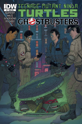 Teenage Mutant Ninja Turtles / Ghostbusters #1 (Subscription Cover)