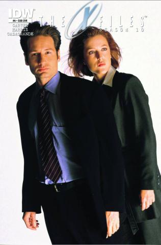 The X-Files, Season 10 #6 (Subscription Cover)
