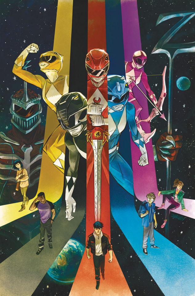 Go, Go, Power Rangers! #22 (Shavrin Cover)