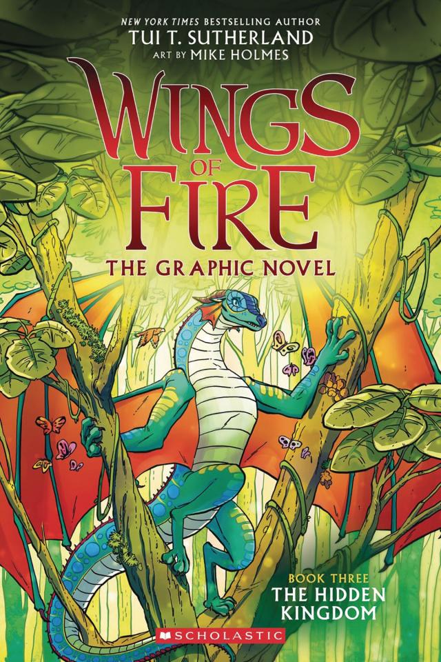 Wings of Fire Vol. 3: The Hidden Kingdom