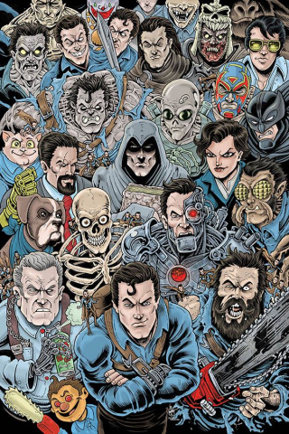 Death to the Army of Darkness #1 (15 Copy Haeser Virgin Cover)