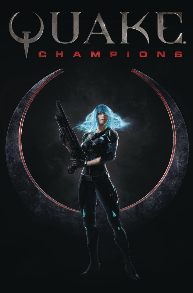 Quake: Champions #3 (Double Issue Cover)