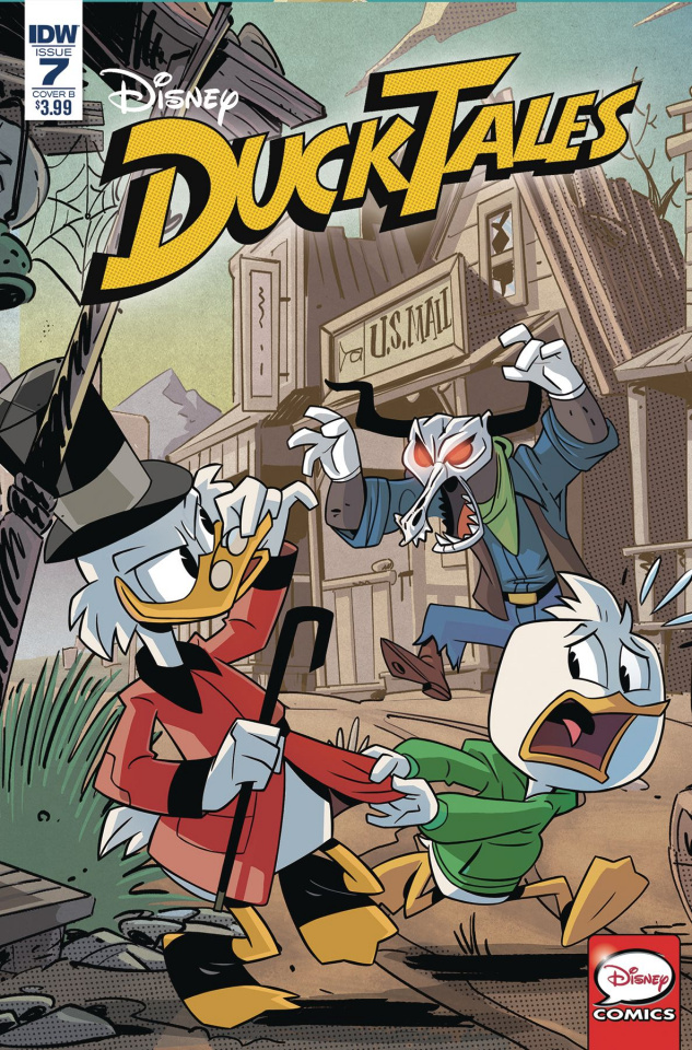 DuckTales #7 (Ghiglione Cover)