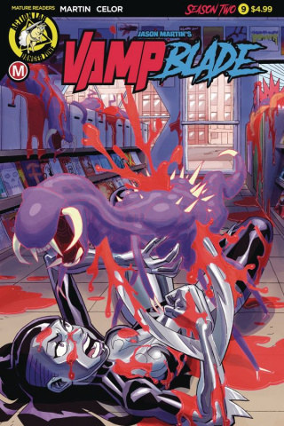 Vampblade, Season Two #9 (Winston Young Cover)
