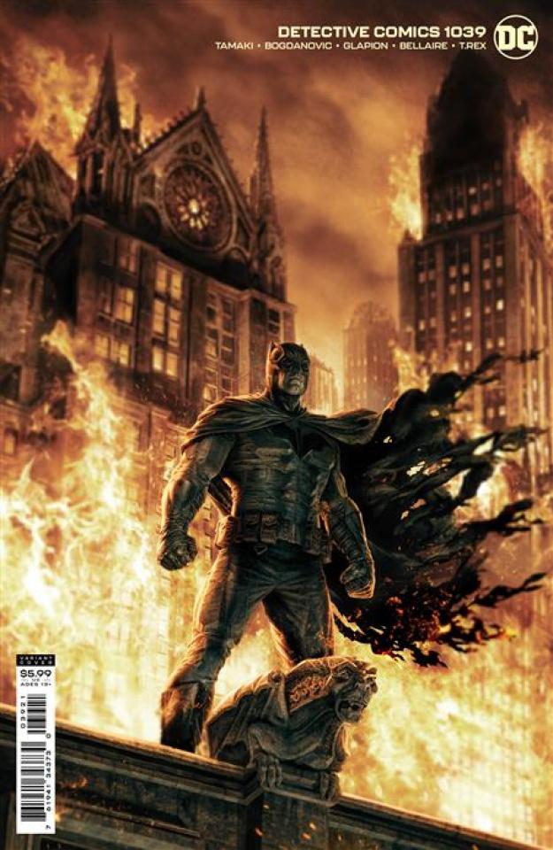 Detective Comics #1039 (Lee Bermejo Card Stock Cover)