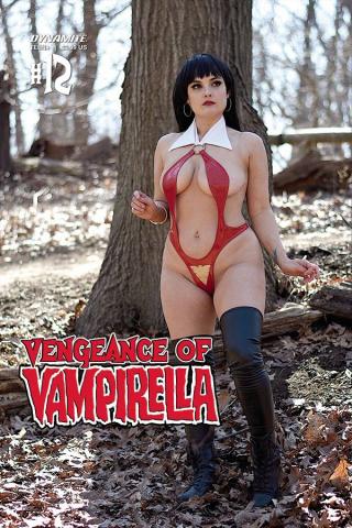 Vengeance of Vampirella #12 (Ophelia Cosplay Cover)
