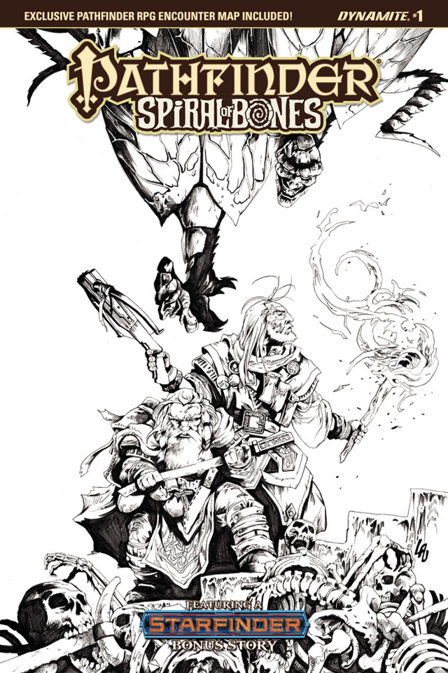 Pathfinder: Spiral of Bones #1 (20 Copy Lau B&W Cover)