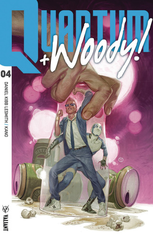 Quantum & Woody #4 (Tedesco Cover)