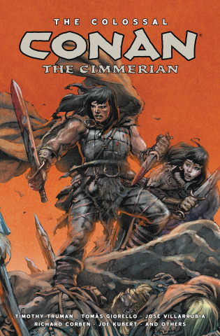 The Colossal Conan, The Cimmerian