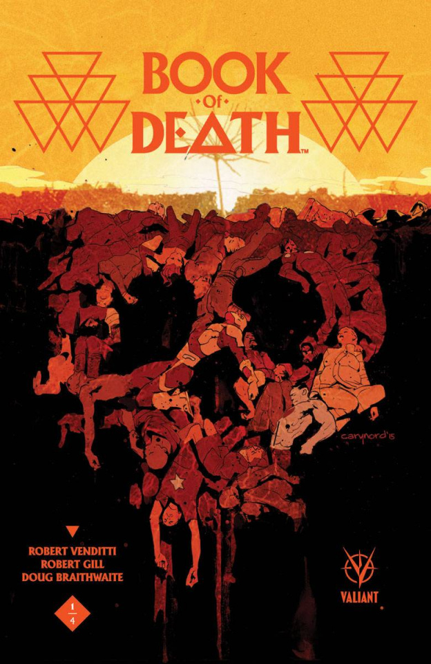 Book of Death #1 (Nord Cover)