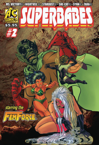 Superbabes Starring the FemForce #2