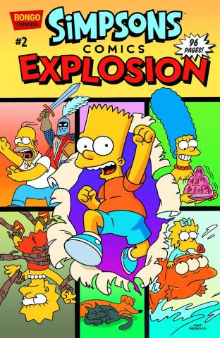 Simpsons Comics Explosion #2