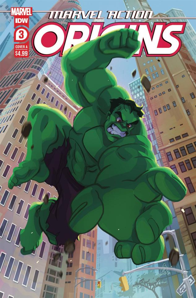 Marvel Action: Origins #3 (Souvanny Cover)
