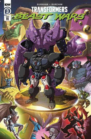 Transformers: Beast Wars #3 (10 Copy Josh Perez Cover)