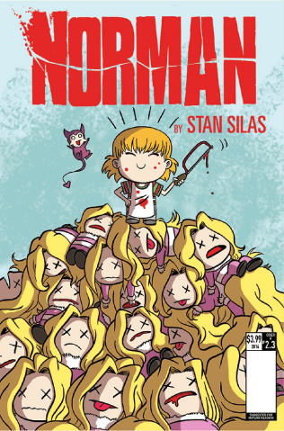 Norman: The First Slash #3 (Smith Cover)