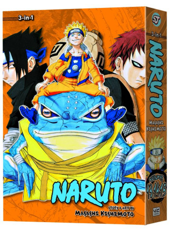 Naruto Vol. 5 (3-In-1 Edition)
