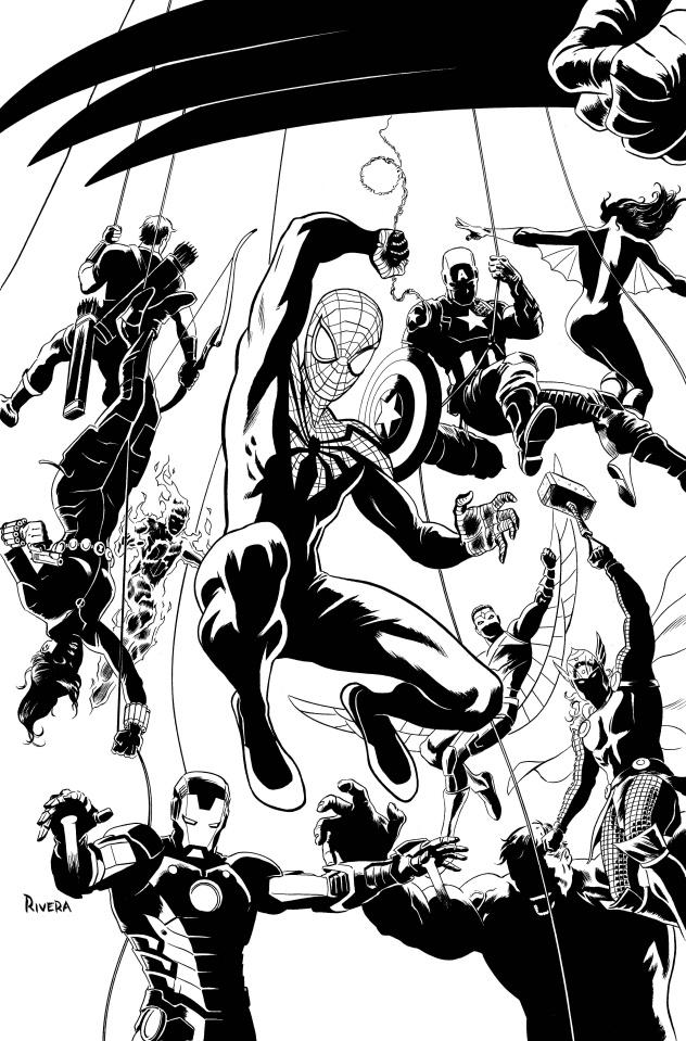 Superior Spider-Man Team-Up #1 (Sketch Cover)