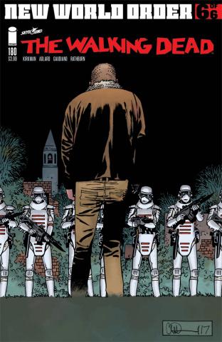 The Walking Dead #180 (Adlard & Stewart Cover)