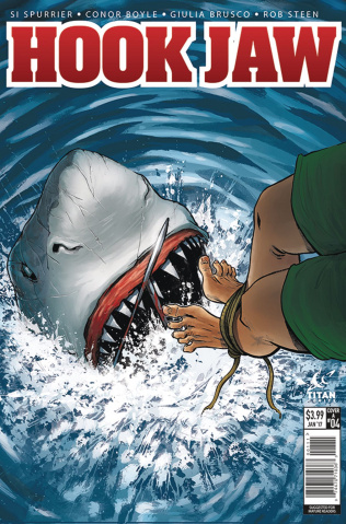 Hookjaw #4 (Boyle Cover)