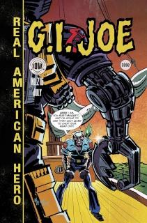 G.I. Joe: A Real American Hero #216 (EC Subscription Cover)
