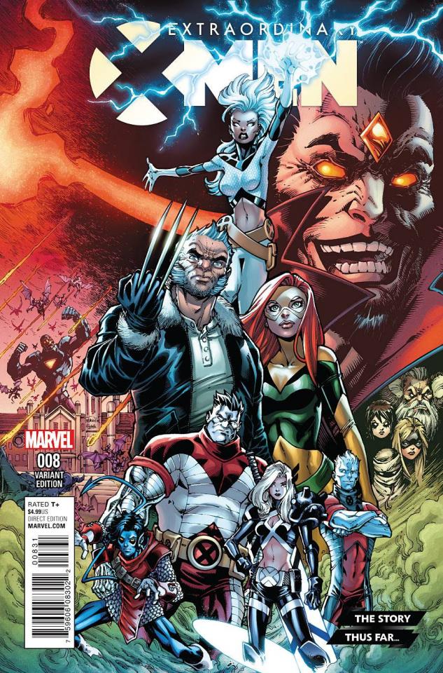 Extraordinary X-Men #8 (The Story Thus Far Var Cover)